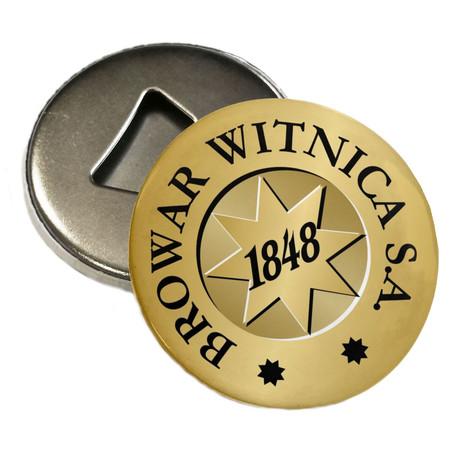 Otwieracz firmowy magnes z logo browaru (1)