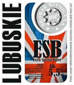 Etykieta piwna Lubuskie ESB 500ml
