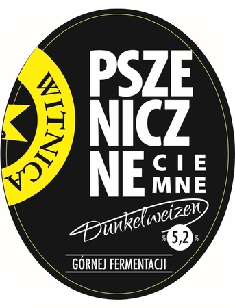 Etykieta piwna Pszeniczne Ciemne 500ml (1)