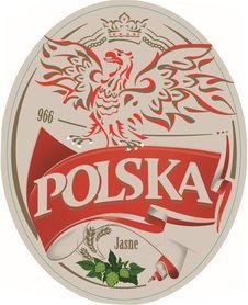 Etykieta piwna Polska 500ml