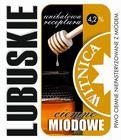 Etykieta piwna Lubuskie Miodowe Ciemne (wersja z zawartością alkoholu) (1)