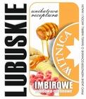 Etykieta piwna Lubuskie Imbirowe (wersja bez zawartości alkoholu) (1)