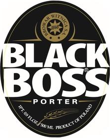 Etykieta piwna Black Boss (USA)