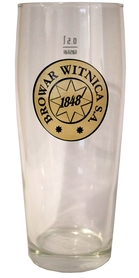 Komplet 12 szklanek 0,5L z logo firmowym