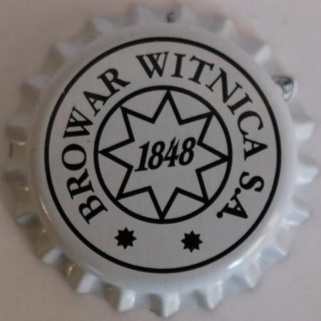 Kapsel piwny biały z logo browaru (1)
